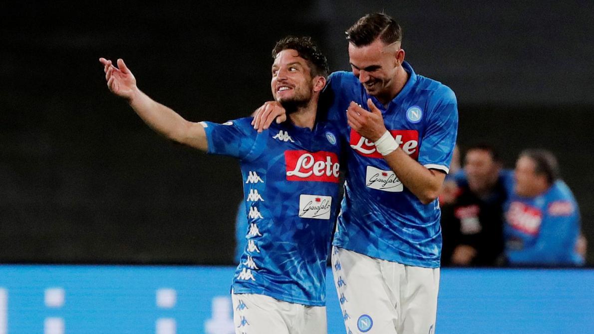 Un but et un assist pour Dries Mertens avec Naples face à l'Inter Milan (4-1, vidéos)