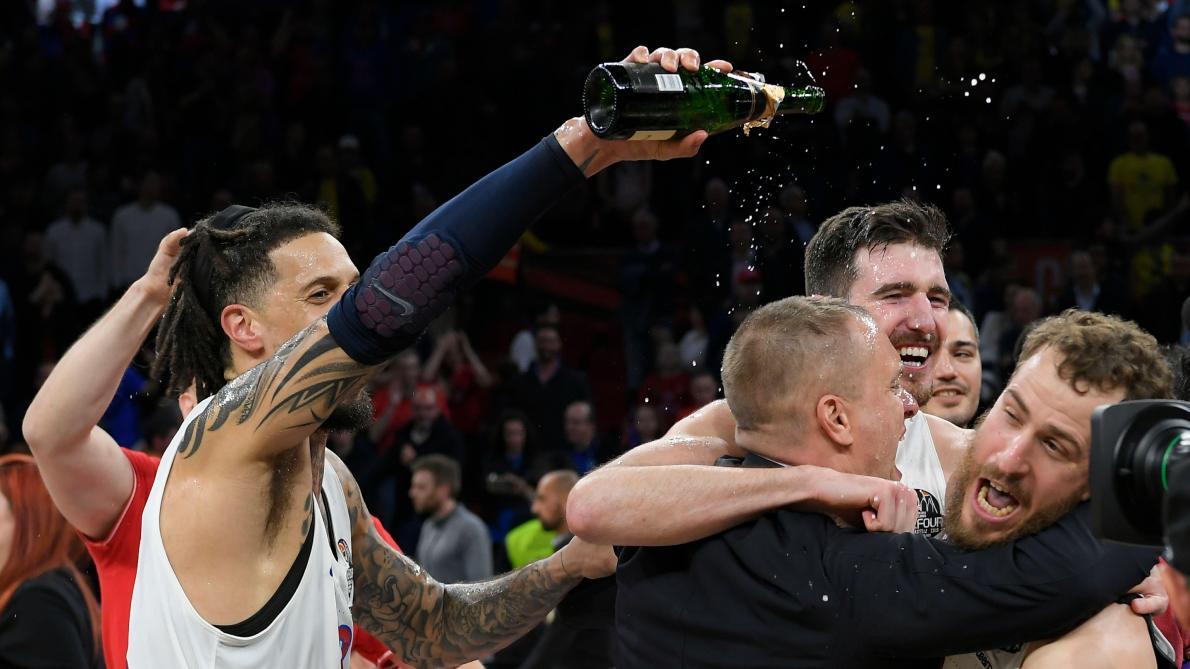 Le CSKA Moscou champion d'Europe de basket pour la 8e fois de son histoire
