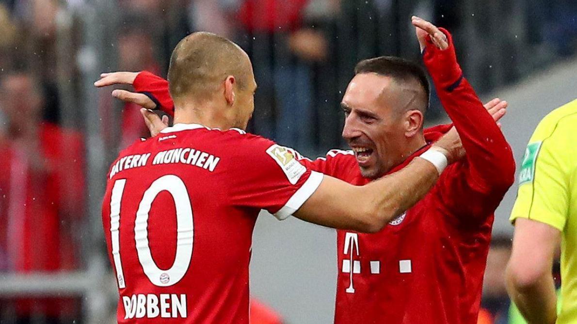 Le Bayern Munich gagne la coupe d'Allemagne et réussit le doublé