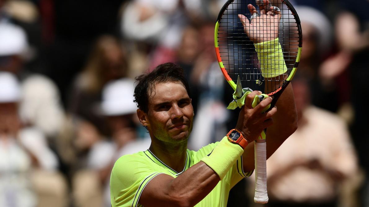 Nadal poursuit tranquillement sa route — Roland-Garros