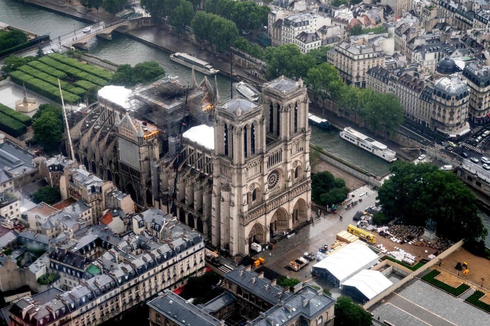 La voûte de Notre-Dame