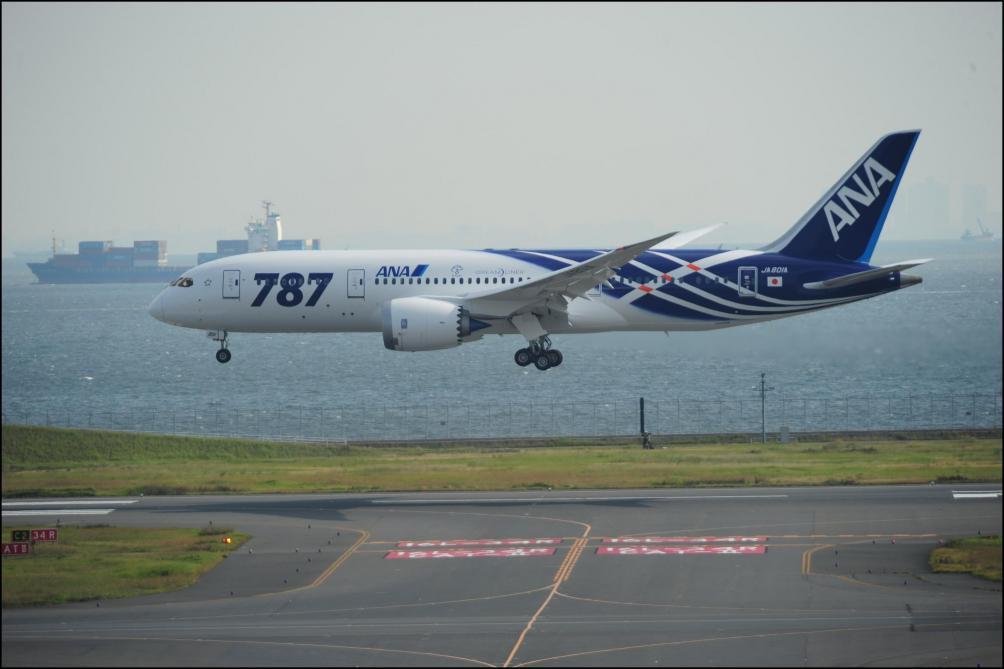 Boeing 787: des pilotes s'inquiètent du système d'extinction d'incendie qui se bloque