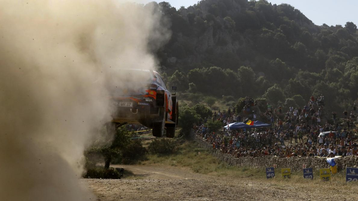 2019 FIA World Rally Championship Round 08, Rally Italia Sardegna 13 - 16 June 2019 Thierry Neuville  Photographer: Austral Worldwide copyright: Hyundai Motorsport GmbH