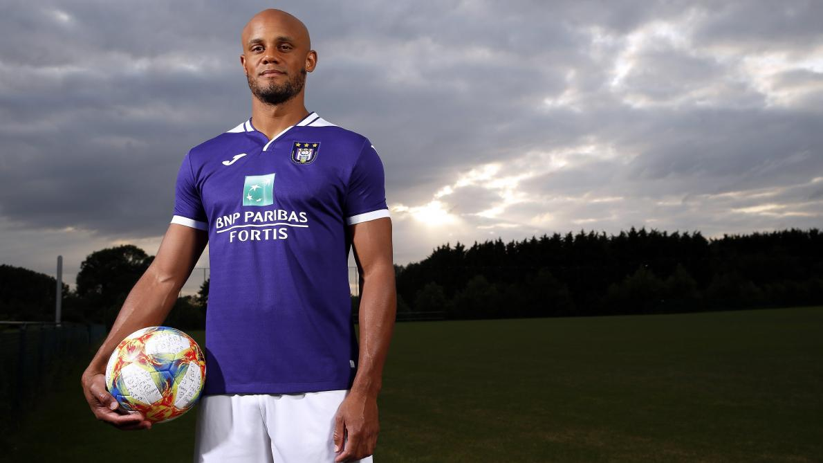 Vincent Kompany. Anderlecht 2019. Jupiler pro league (Belgium). 33 years.