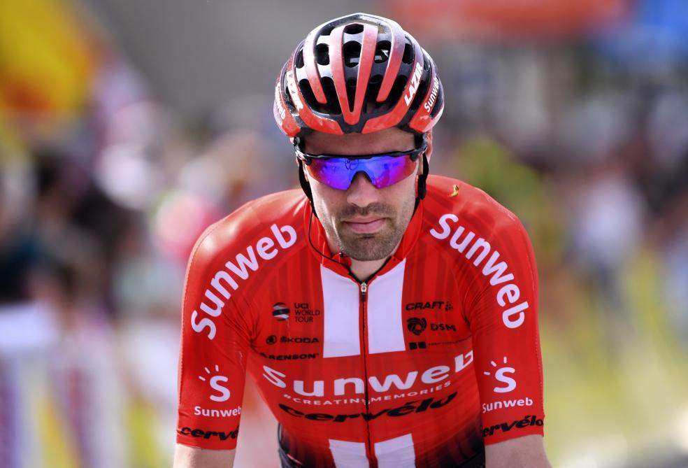 Cyclisme : Tour de France: Tom Dumoulin deuxième absent de marque