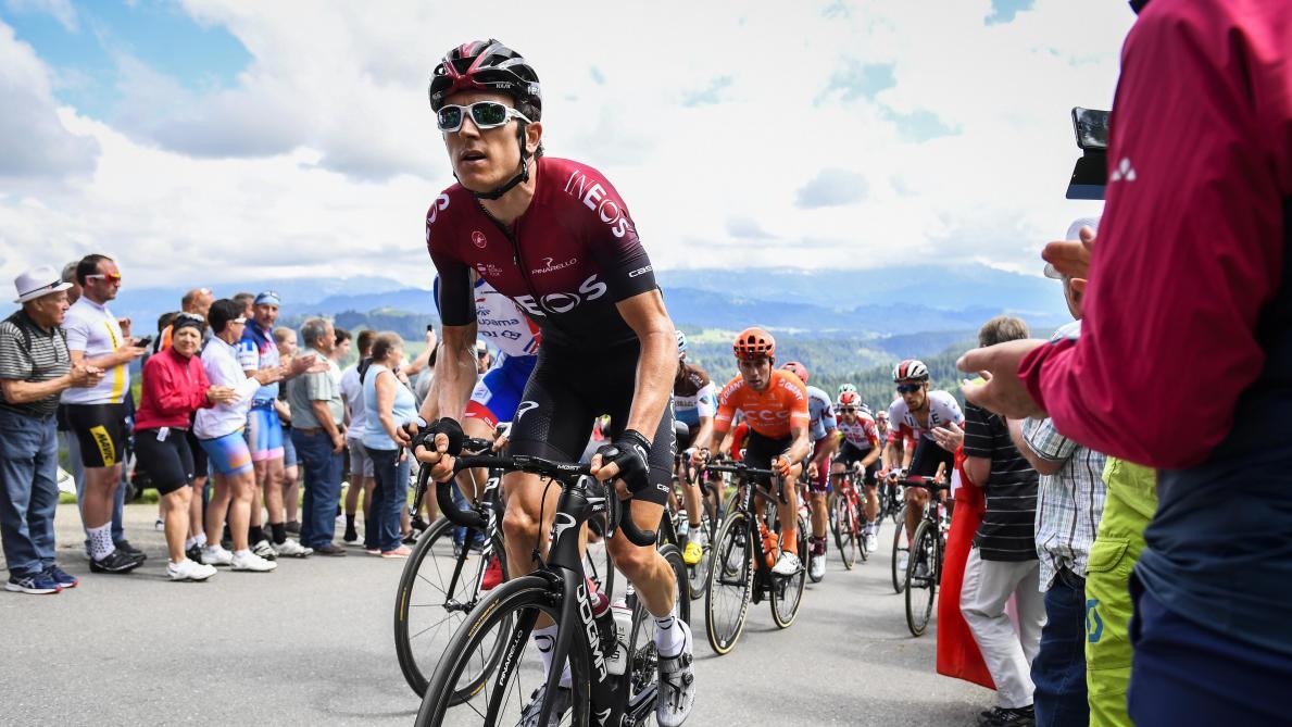 La lourde chute de Geraint Thomas au Tour de Suisse