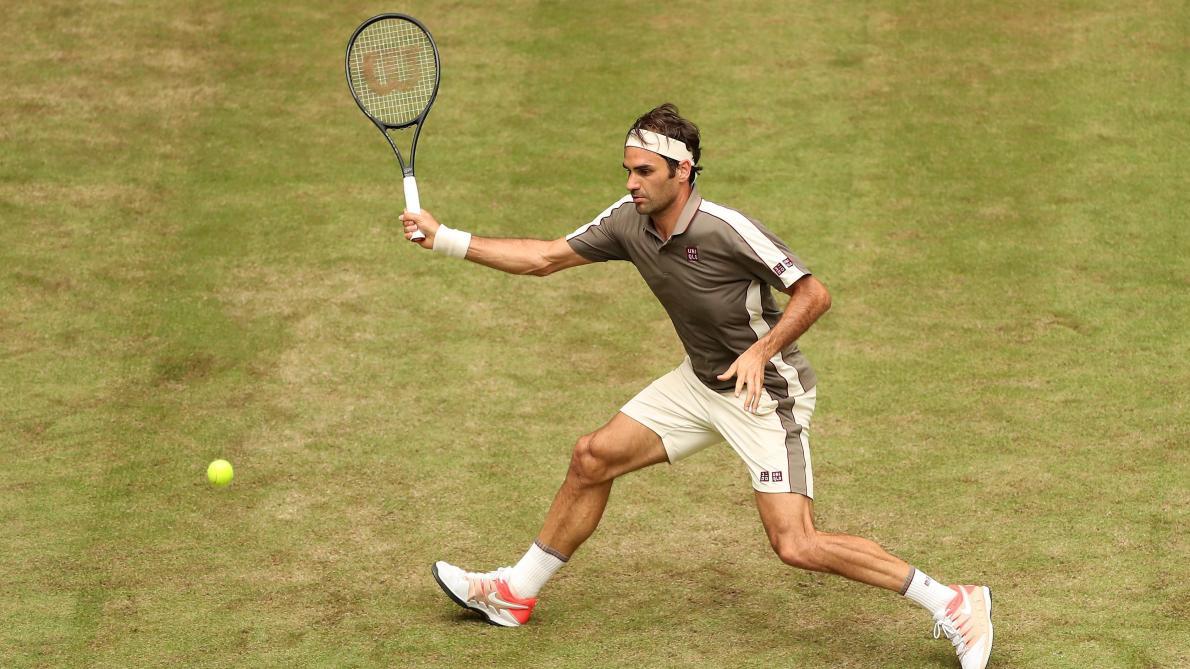 ATP Halle: Roger Federer commence sa saison sur gazon par une victoire