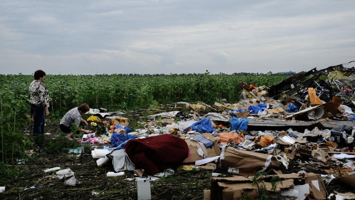 Crash du MH17: quatre personnes sont poursuivies en justice