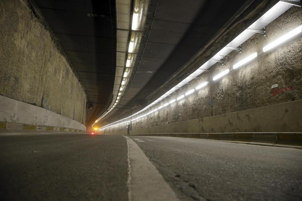 Le Tunnel Leopold Ii Ferme Apres La Decouverte D Une Fuite
