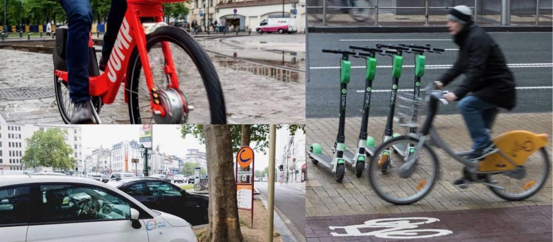 Vélos, trottinettes, véhicules partagés...: nous avons comparé les alternatives à la voiture