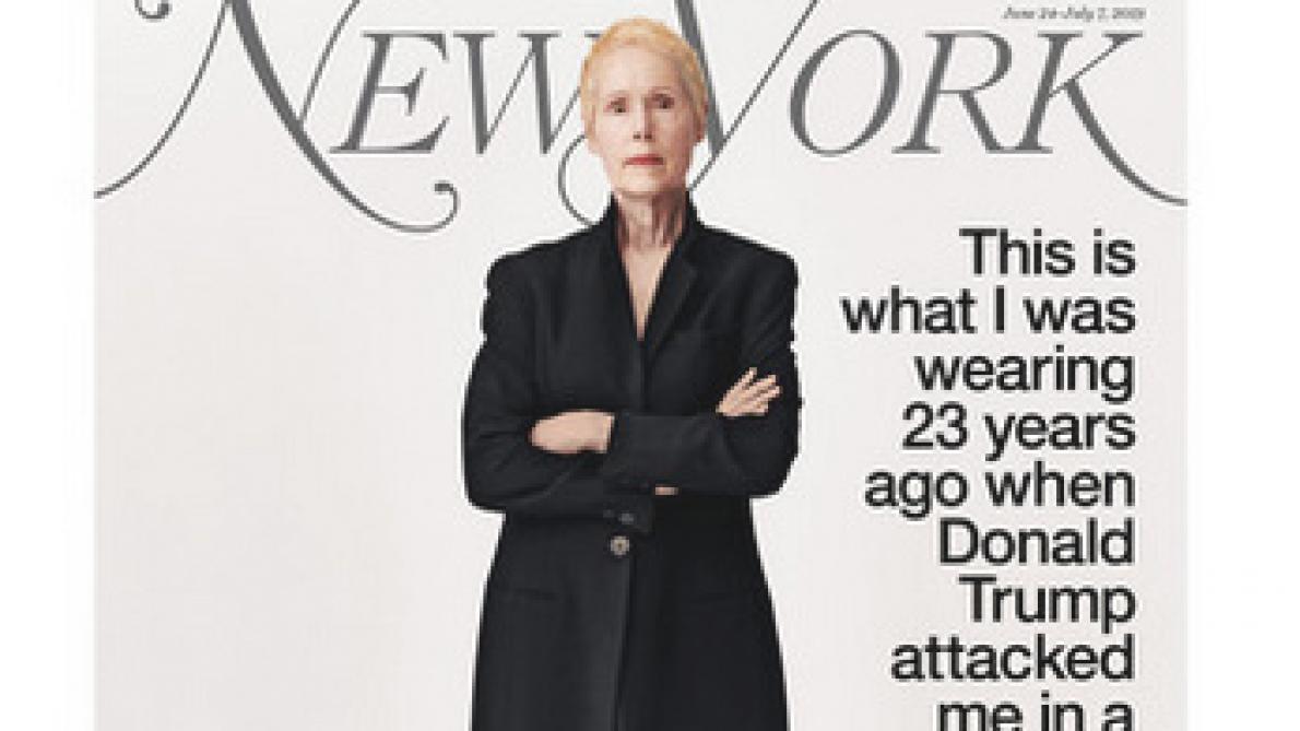 Donald Trump accusé de viol par une journaliste du ELLE
