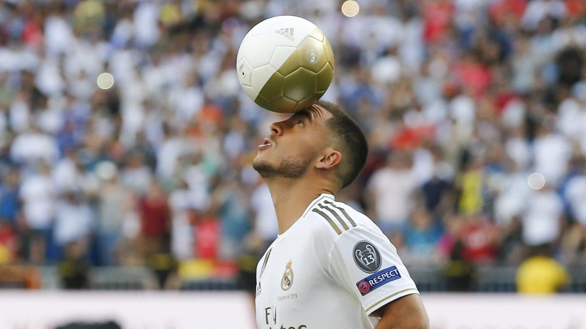 Eden Hazard inspire un autre joueur du Real Madrid: «S'il regarde mes vidéos…»