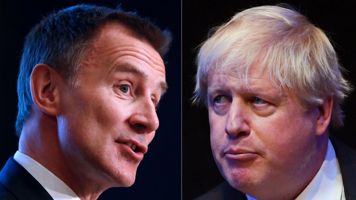 «Sois un homme» demande à Boris Johnson son rival dans la course à Downing Street