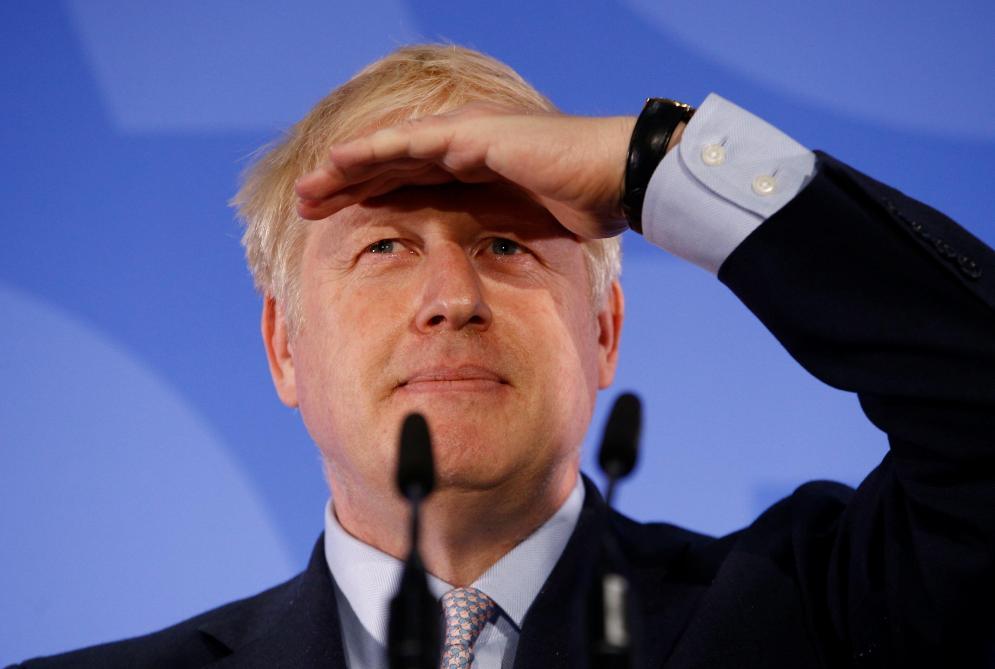 Boris Johnson fait du Brexit une comédie