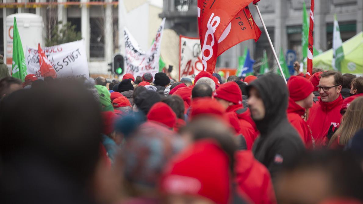 La FGTB condamnée à une peine symbolique: l'organisation n'entend pas en rester là