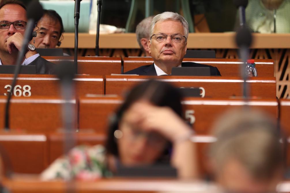 Reynders n'a pas été élu au Conseil de L'Europe parce qu'il était «trop fort»