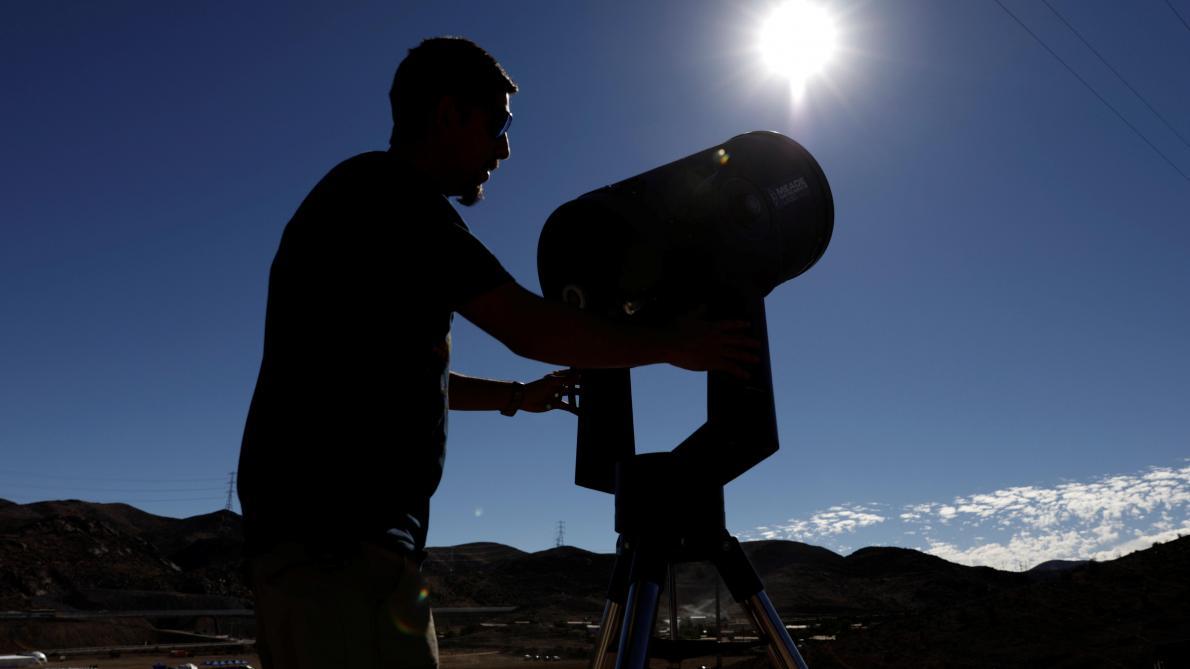 Une éclipse solaire totale a pu être observée en Amérique du Sud