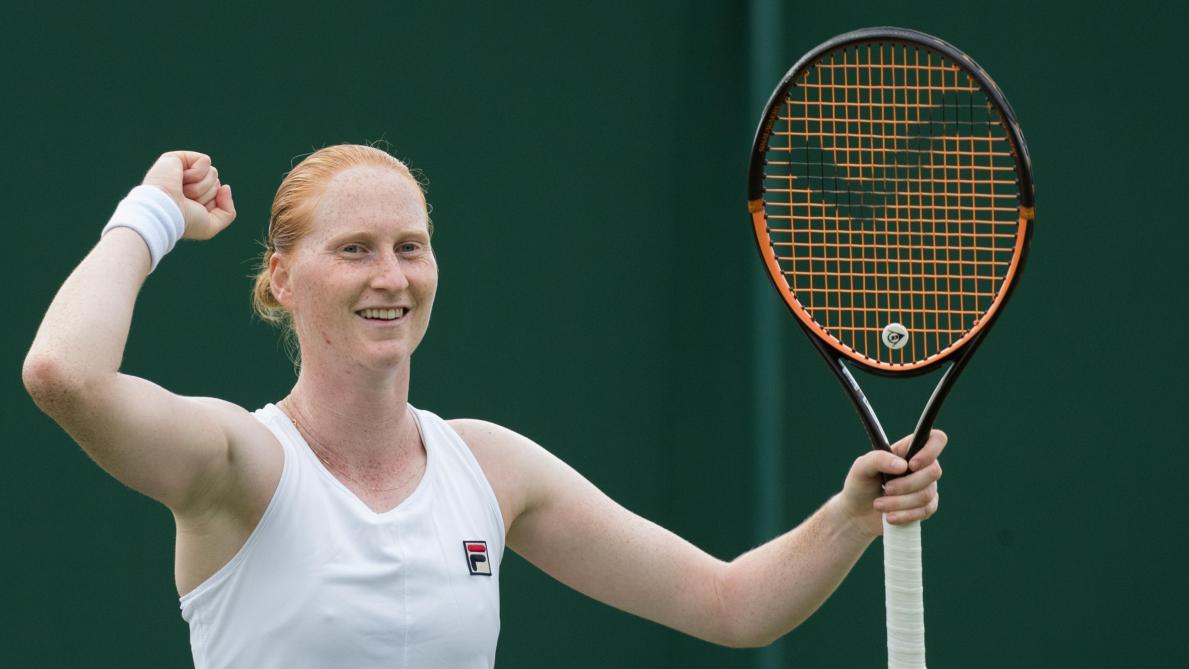 Alison Van Uytvanck défie la N.1 mondiale Ashleigh Barty (direct) — Wimbledon