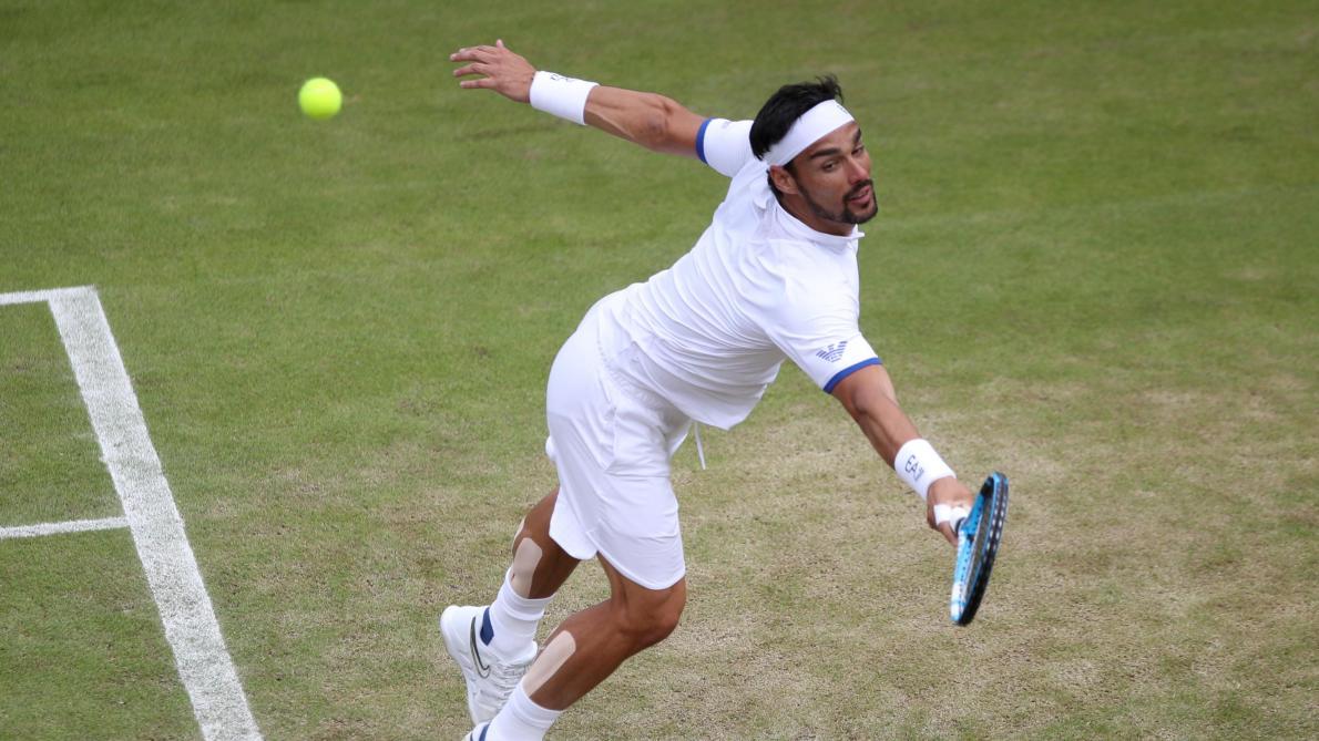 Wimbledon - Tennys Sandgren a envoyé Fabio Fognini au tapis