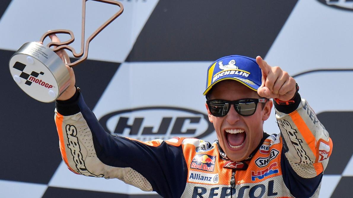 MotoGP: Marc Marquez remporte le GP d'Allemagne et s'envole au championnat