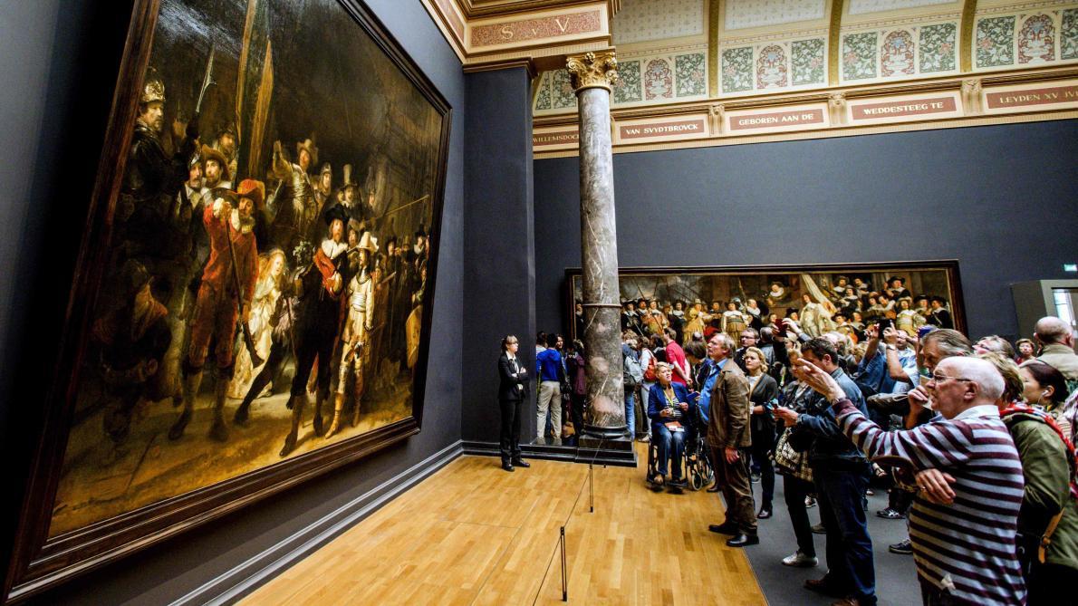 À Amsterdam, un chef d'œuvre de Rembrandt restauré en public