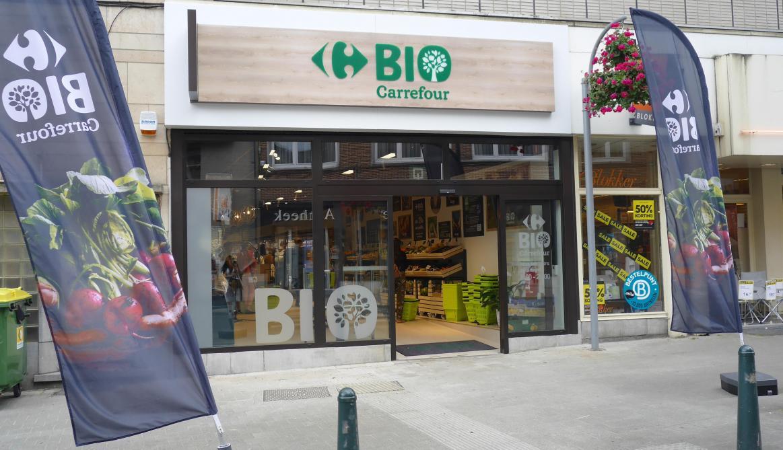 Carte Carrefour Belgique.Les Images Du Nouveau Carrefour Bio A Bruxelles Le Soir
