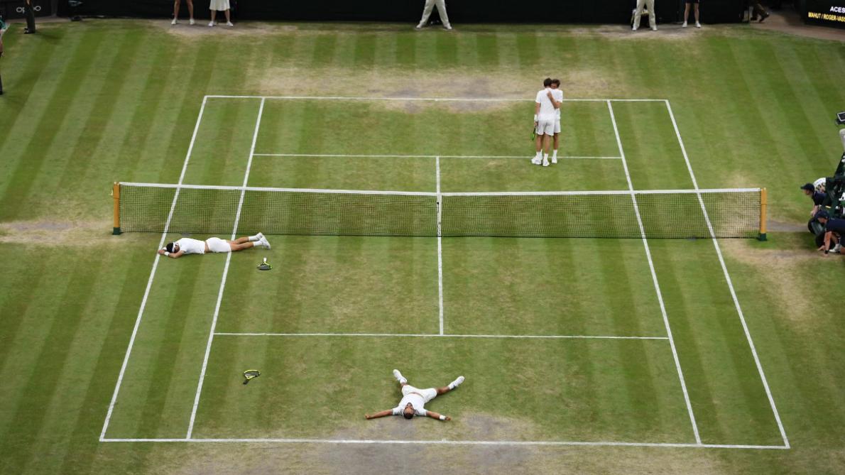 À Wimbledon, deux ligériens en finale du double messieurs — Tennis