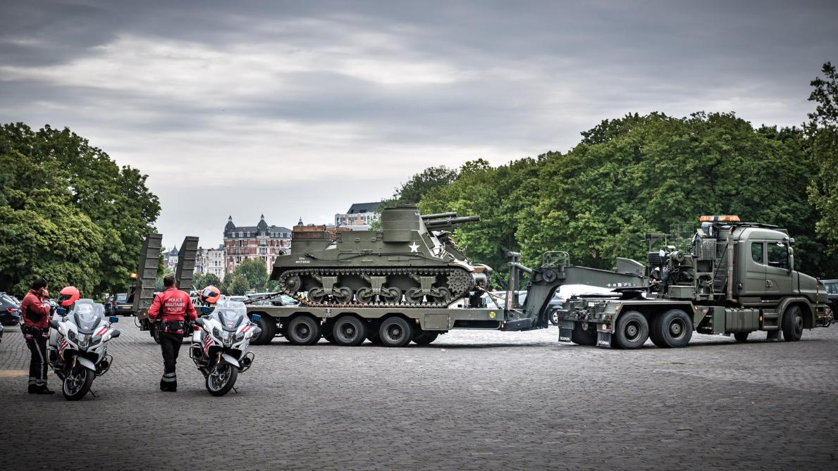 Libération: une colonne militaire va traverser le pays