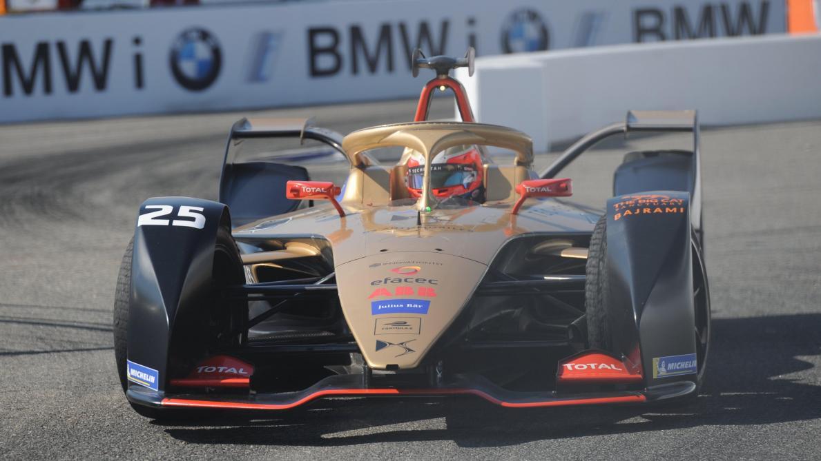 Le Français Jean-Eric Vergne conserve son titre de champion de Formule électrique