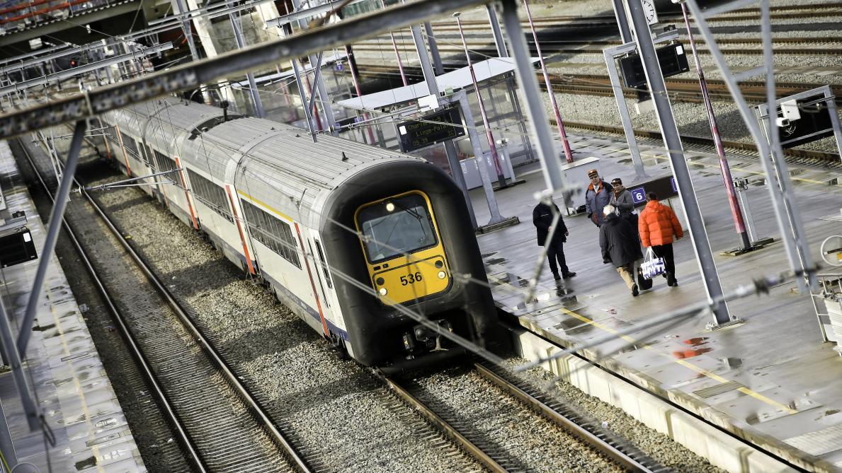 La circulation des trains interrompue entre Tournai et Mons