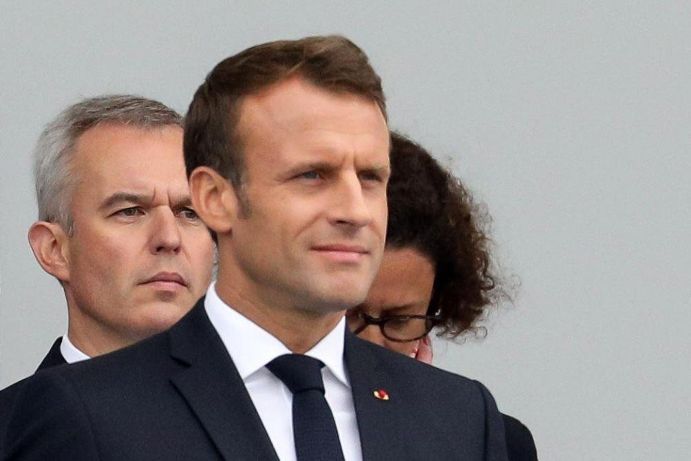 Macron sur Rugy : «Je prends mes décisions sur base de faits, sinon ça devient la République de la délation»