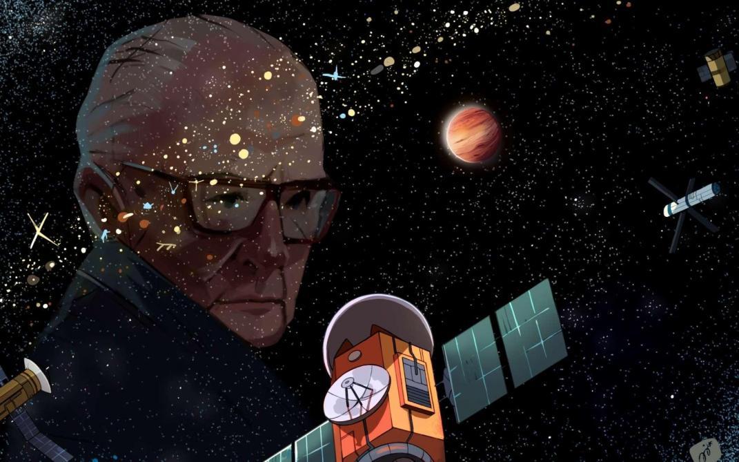 Marcher sur la Lune: dix artistes cosmiques de l'odyssée de l'Espace