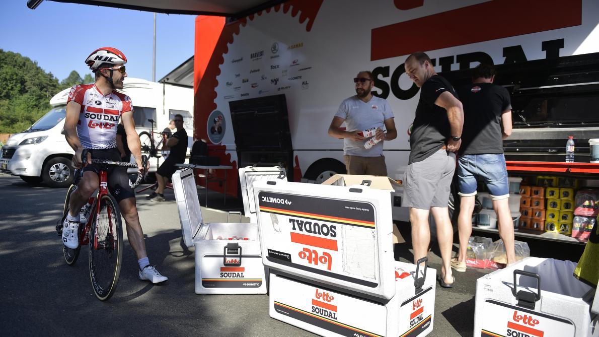 Tour de France: 50.000 euros de matériel volé dans une chambre d'hôtel de l'équipe Lotto Soudal