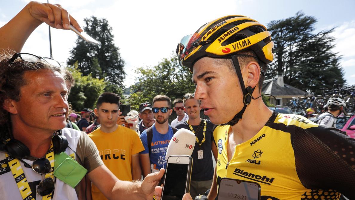 Tour de France: abandon de Wout van Aert victime d'une lourde chute