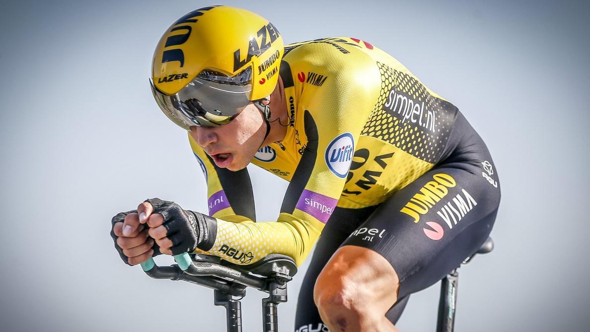 Abandon de Wout van Aert victime d'une lourde chute — Tour de France