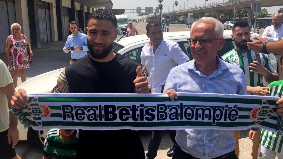 Le Betis Séville officialise l'arrivée de Nabil Fekir