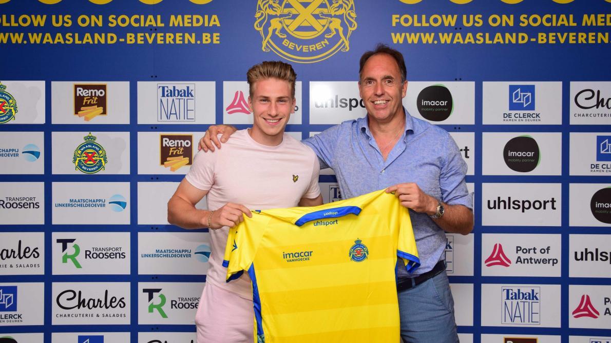 Matthias Verreth, jeune talent belge du PSV, débarque pour trois ans à Waasland-Beveren