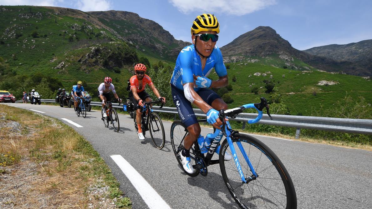 Tour de France: Quintana se rachète, Bernal nouveau dauphin d'Alaphilippe