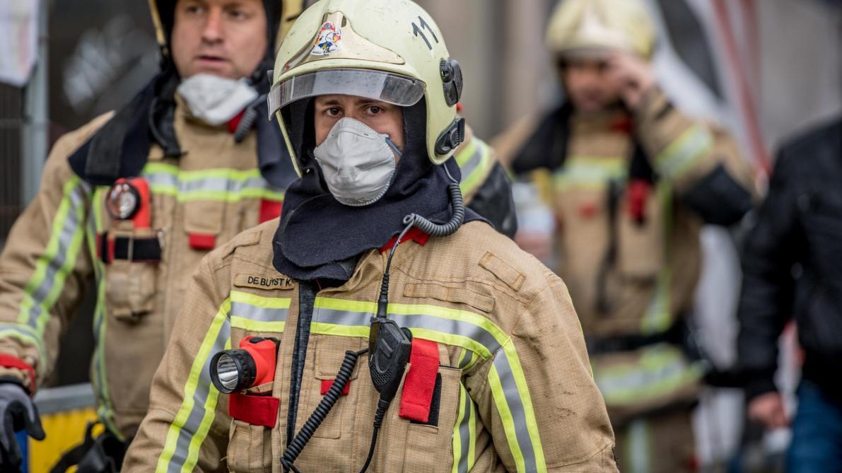 Bruxelles: un pompier violemment agressé lors d'une intervention à Laeken