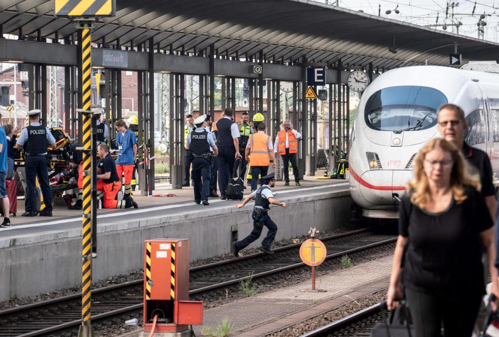 Décès d'un enfant de huit ans poussé sous un train — Allemagne