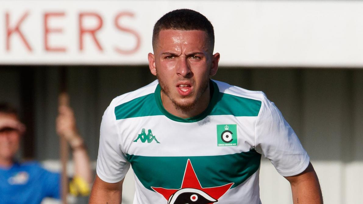 Cercle's Kylian Hazard pictured during a friendly game between first league teams Cercle Brugge and KV Oostende, Saturday 29 June 2019 in Brugge, in preparation of the upcoming 2019-2020 Jupiler Pro League season. BELGA PHOTO KURT DESPLENTER