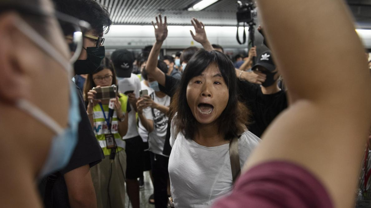 Exercice anti-émeutes à Shenzhen — Manifestation Hong Kong