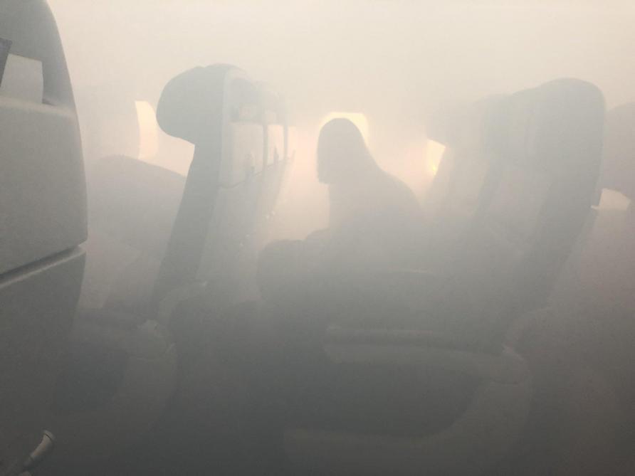 Un Airbus A321 rempli de fumée contraint d'atterrir d'urgence
