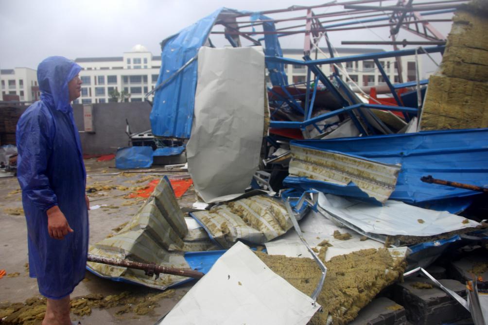 Le bilan du typhon Lekima en Chine s'alourdit