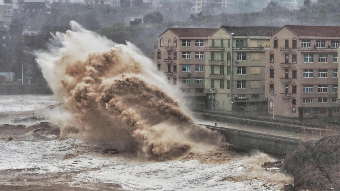 Glissement de terrain meurtrier en Chine, après le passage du typhon Lekima