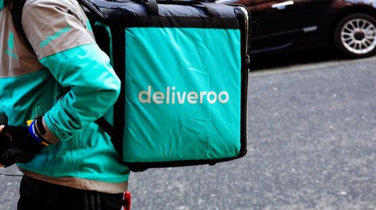 Le livreur de repas Deliveroo accumule les revers en Europe (afp)