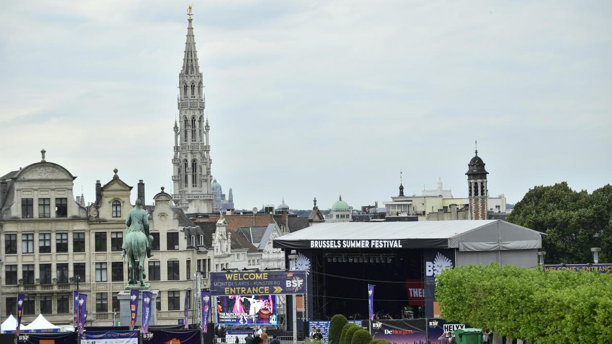 Brussels Summer Festival: comment s'y rendre en transports en commun?