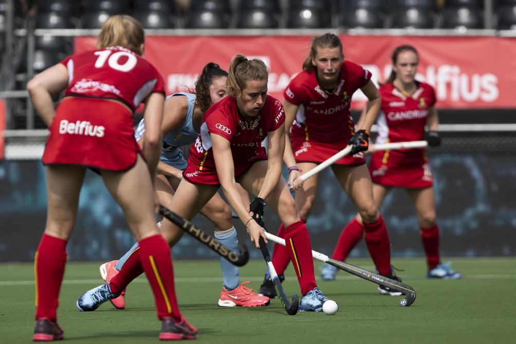 Euro de hockey: les Red Panthers égalisent en fin de 3e quart-temps face aux Pays-Bas (1-1, direct)