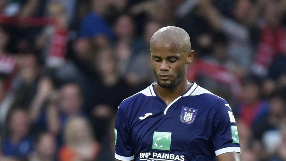 Anderlecht: Kompany n'est plus entraîneur-joueur