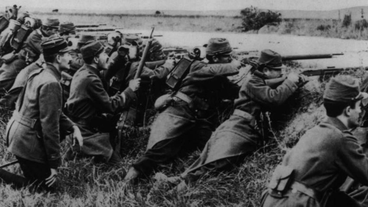 Le 22 août 1914, la guerre fauchait 27.000 hommes en une journée